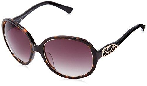Oscar by Oscar De La Renta Women's Ssc5077 Round Sunglasses, Demi, 60 - La Oscar De Sunglasses Renta