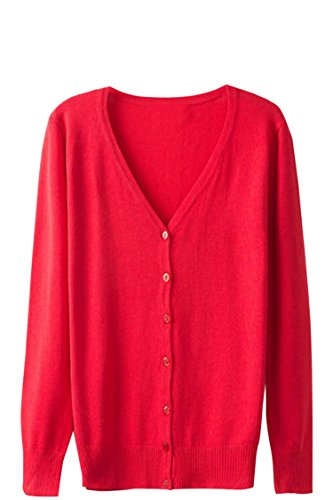 Sovoyant Womens Classic Cardigan Sweater