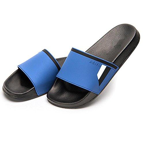 XIAOLIN Baño de verano antideslizante zapatillas de baño Inicio Hogar interior y exterior versión coreana de la marca Zapatillas de hombre (varios colores disponibles) (tamaño opcional) ( Color : 03 , 03