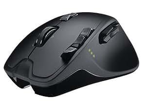 Logitech G700 - Ratón inalámbrico para videojuegos de ordenador, color negro
