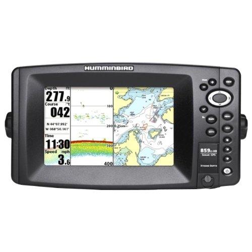 "409120-1 859ci HD Combo 7"""" DualBeam Temp/ Humminbird Fishfinders"