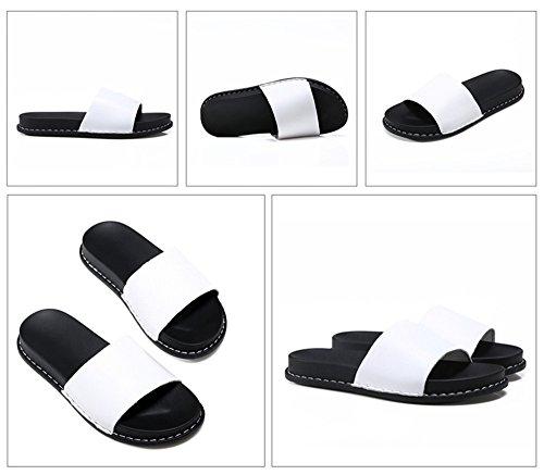 fondo actividades plano zapatillas y libre al aire para Blanco SJMM de Zapatillas fondo moda mujer para plano ZIxPT
