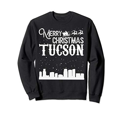 (Merry Christmas Y'all Tucson City crewneck)