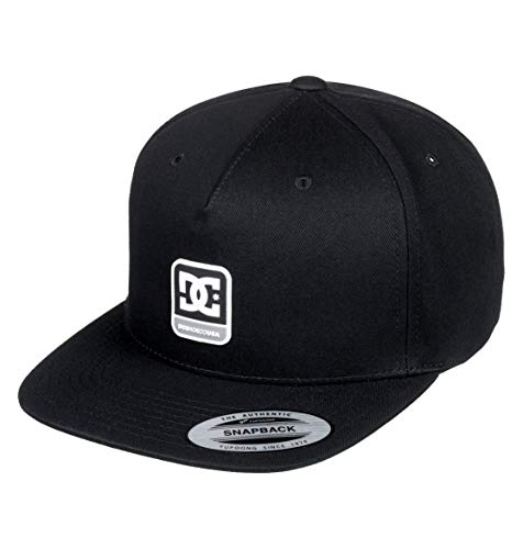 DC Shoes Mens Dc Shoes Snapdragger - Snapback Hat - Men - One Size - Black Black One Size from DC