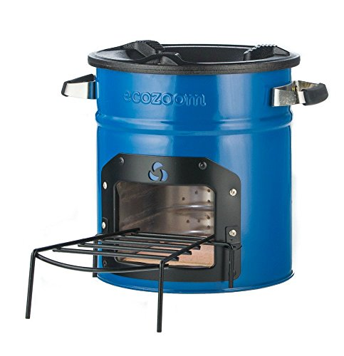 Wood Kitchen Stove Burning - EcoZoom Dura Camping Stove - Portable Wood Burning Camp Stove for Backpacking, Hiking, RV and Survival, no Gas or Electricity needed!