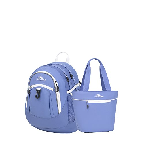 High Sierra Fat Boy Backpack & Lunch Tote Set (Lapis/White)