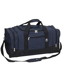 Everest Luggage Sporty Gear Bag, Navy/Black, Navy/Black, One Size