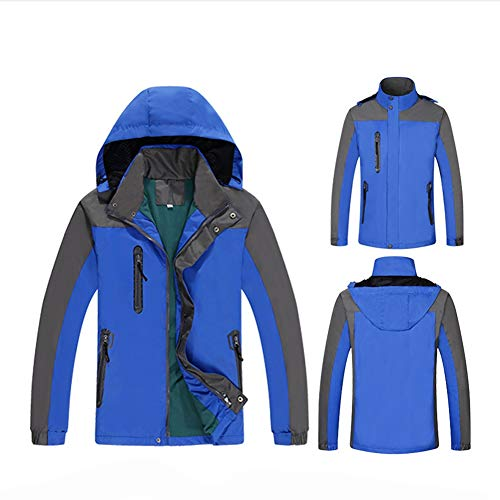 Idéales Poignets Le Snowboard Blue Giow Pour Résistant Poches Et Hiver Veste Ajustables Hommes Ski De L'eau Femme À neige Jupe Pare En ZUFaB