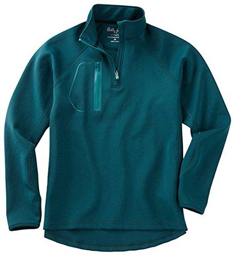 Bobby Jones Men's Xh2O Performance Crawford Pullover Golf Jacket, Pine, X-Large by Bobby Jones