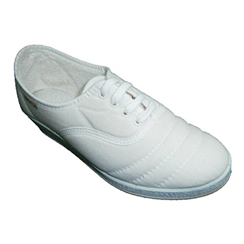 Wedge Schnürsenkel zu gehen Soca weiß Weiß