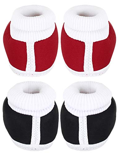 Neska Moda Pack of 2 Unisex Baby Booties for 6 to 12 Months