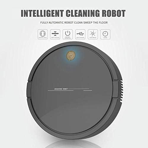 Aspirateur Robot Robot Intelligent Aspirateur Usb De Charge Ménage Sans Fil Robot De Balayage Poussière Poussière Nettoyage Aspirateur