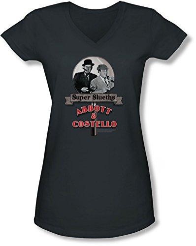 Junior V en cuello carb y Abbott camiseta Super Costello con Sleuths EpUCq