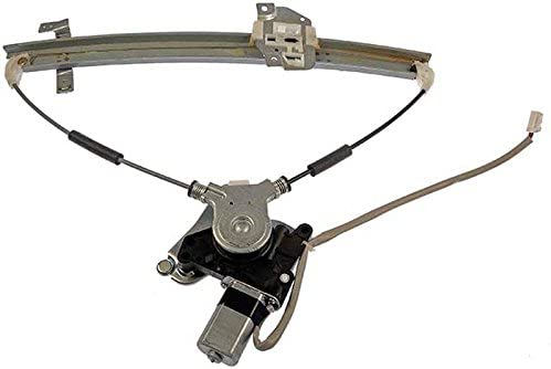 New Window Regulator W//Motor Front Drivers Side Left LH For 1999 2000 2001 2002 2003 Mazda Prot/ég/é /& Prot/ég/é5 Replaces B25E59590D 741-740 11A390