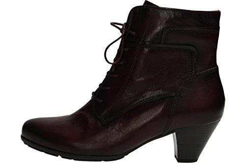 Gabor Damenschuhe 55.644.25 Damen Stiefel, Schlupfstiefel, Boots Rot (wine (Effekt)), EU 36