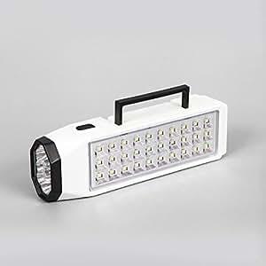 Emergencia Recargable Multifuncional Se Enciende La Luz Al Aire Libre De La Iluminación Del Hogar Puesto De Noche De La Linterna,White