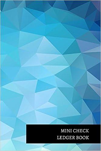 mini check ledger book insignia accounts 9781521299456 amazon com