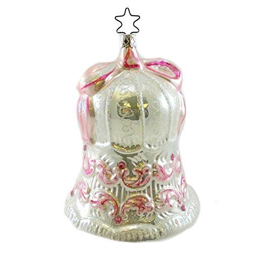 Inge Glas BIRGITS BELL Blown Glass Wedding Ornament 233106
