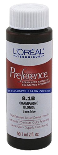 Loreal Preference Color #8.1B Champagne Blonde (6 - Champagne 8.5a