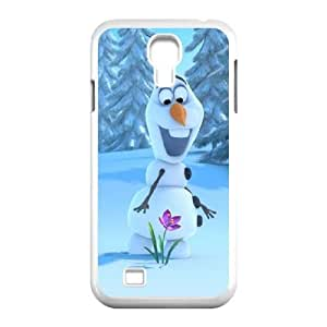 Samsung Galaxy S4 9500 Cell Phone Case White Olaf hkkd