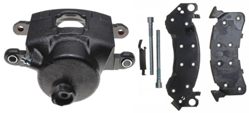 ACDelco 18R649 Professional Front Passenger Side Disc Brake Caliper Assembly with Pads (Loaded), Remanufactured ()