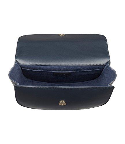 A.P.C. Borsa A Spalla Donna PXAWVF61161DARKBLUE Pelle Blu