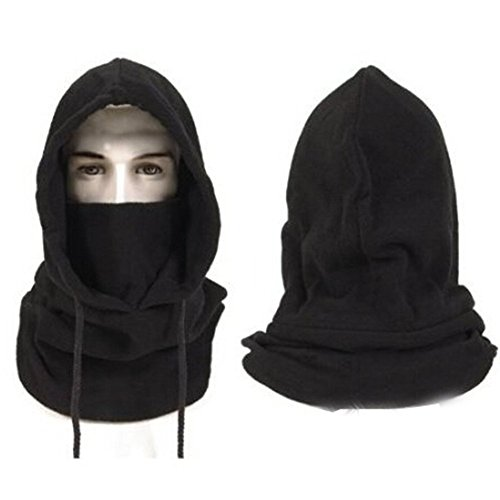 Hats for Men Winter Hat Face Mask Winter Mask Mens Hat Balaclava Face Mask Black