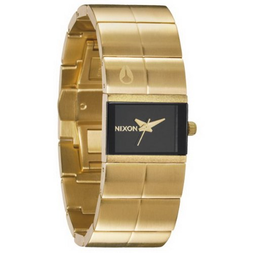 Cougars Womens Watch (Nixon Women's Cougar A1901043 Gold Stainless-Steel Quartz Watch)