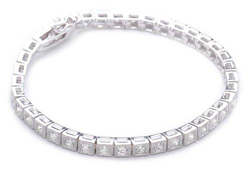 Bracelet - Femme - Argent 925/1000 11.21 Gr - Oxyde de Zirconium
