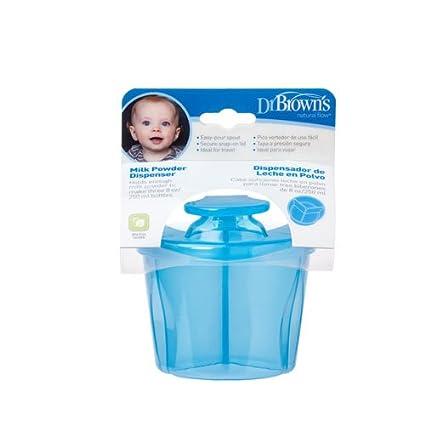 Dr. Browns AC039-INTL - Dispensador de leche en polvo, color azul