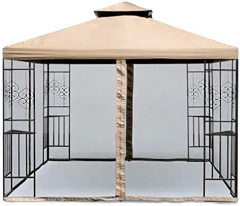 Garden Winds Replacement Canopy Top Cover for The Aldi Tulip Gazebo – Standard 350