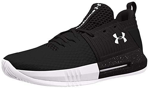 Under Armour ClutchFit Drive 4 Low Basketball Shoes 103Wht/Black