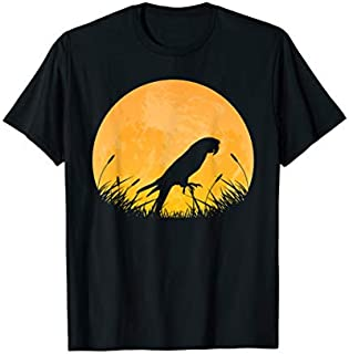 Macaw Easy Halloween Outfit Parrot Bird Moon Costume Gift T-shirt | Size S - 5XL