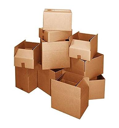 10, 12X12X12 IMBALLAGGI 2000 Scatole Di Cartone Onda Singola Cartone Per Imballaggi Trasloco Spedizione