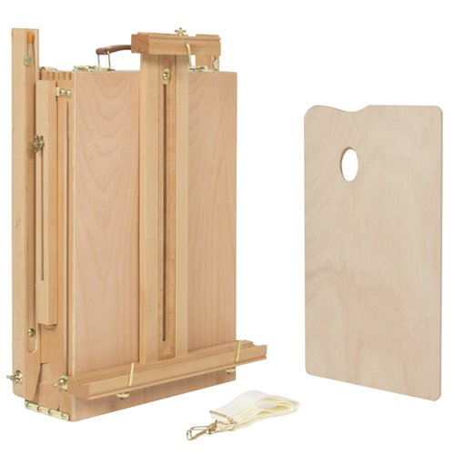 Best Choice Products French Easel Wooden Sketch Box Portable Folding Art Artist Painters Tripod New