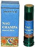 Nag Champa – Nandita Incense Oil/Roll On – 1/4 Ounce Bottle, Health Care Stuffs
