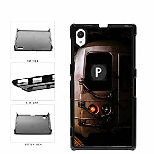 Personalized NYC Train Custom Letter P Plastic Phone Case Back Cover Xperia Z1