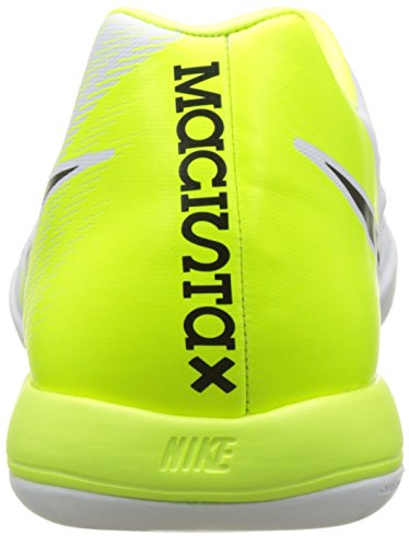 Nike Magista Onda Ii Ic, Botas de Fútbol para Hombre Varios colores (White / Black / Volt / Pure Platinum)