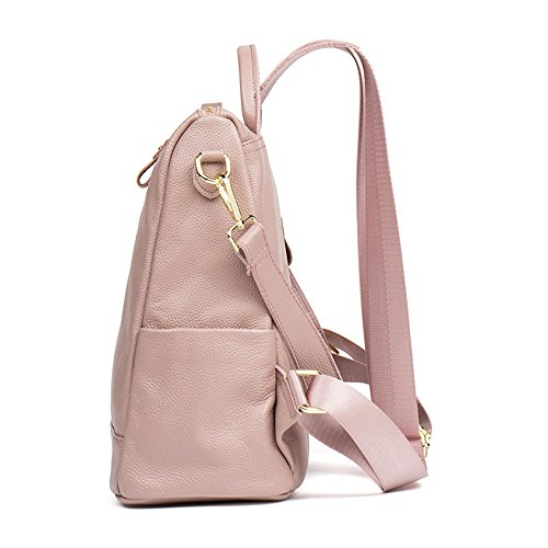Backpacks Women Black Pink Multi Satchel Purse Bag Casual HMILY Leather Shoulder Functional pqFwHt1H