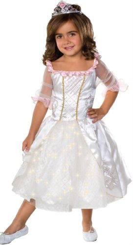 Costume Child's Fairy Tale Princess Costume with Fiber Optic Light Twinkle Skirt Small