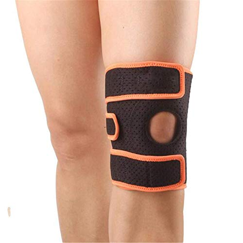 YZGL Knee Support Motion Adjustable Silicone Spring Knee Pain, Discomfort, Mild Strain/Sprain, Knee Fatigue, Unstable Humerus, Fitness ()