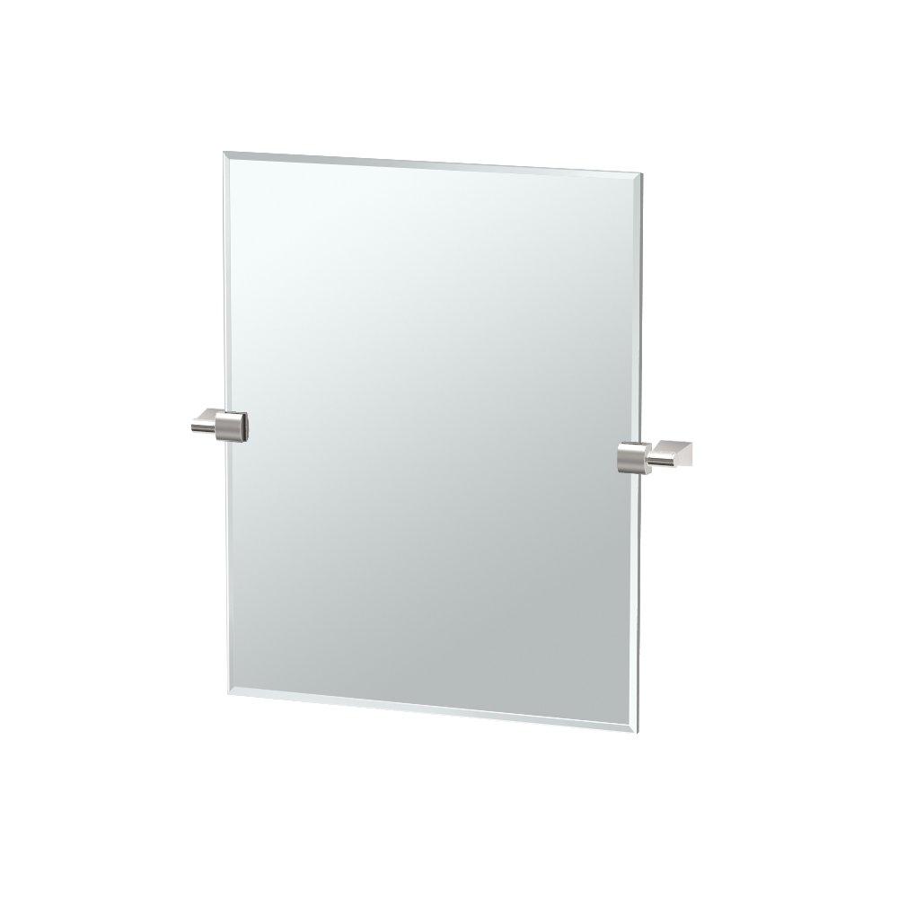 Gatco 4389SM Bleu, Small Rectangle Mirror by Gatco