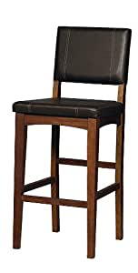 Amazon Com Linon Home Decor Milano Bar Stool 30 Inch