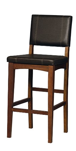Linon Home Decor Milano Bar Stool, 30-Inch by Linon Home Dcor