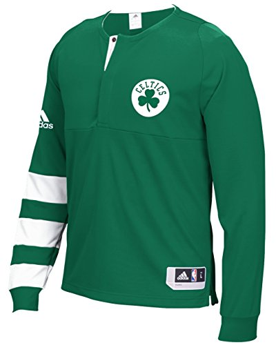 Boston Celtics Adidas 2016 NBA Men's On-Court Authentic L/S Shooting Shirt