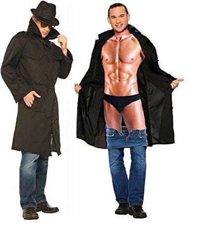 Forum Novelties Men's The Flasher Male Costume, Multi, -