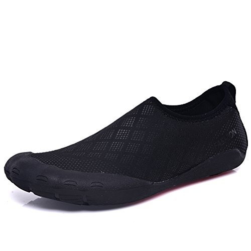 Exing Water Shoes Summer New Men's Stretch Beach Shoes Comfortable Quick Dry Shoes Five-Toed Shoes Swim Yoga Beach Running