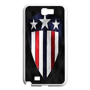 Samsung Galaxy Note 2 N7100 Phone Case Captain America 9W57731