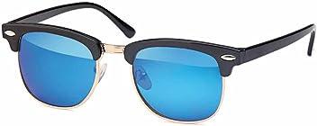 Verspiegelte Kinder Wayfarer-Sonnenbrille Halbrahmen - UV 400 Filter und CE-Prüfzeichen