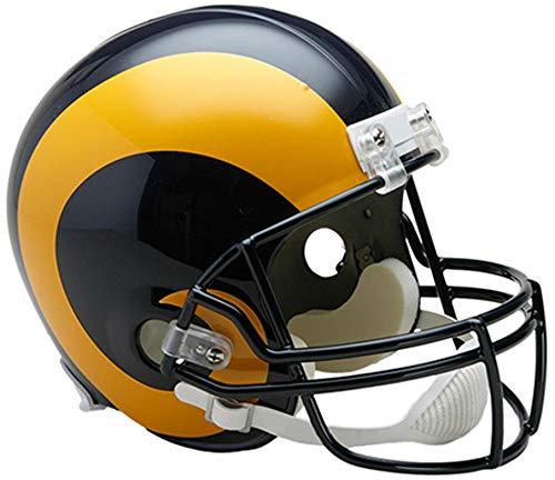 Sports Memorabilia Riddell Los Angeles Rams Throwback 1989-1999 VSR4 Full-Size Replica Football Helmet - NFL Replica Helmets - 1999 Replica